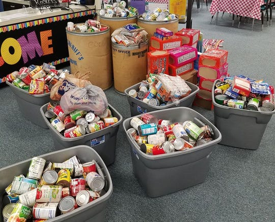 """The Bossier Sheriff's Office is collecting canned goods and non-perishable items for its """"Spirit of Christmas"""" food drive."""