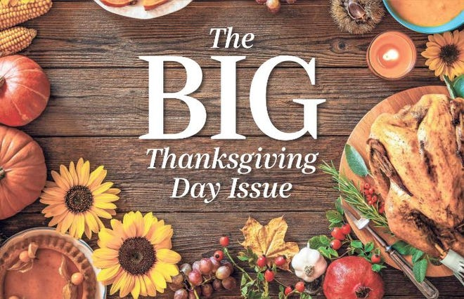 Thanksgiving Day edition will be available at Sioux Falls locations on Wednesday.