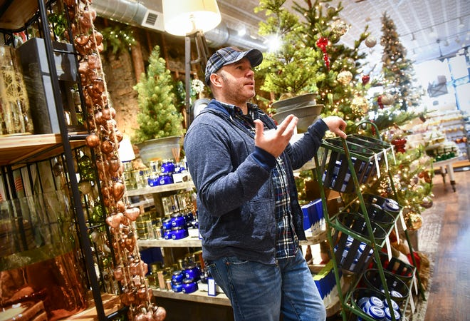 Owner Josh Hoffman talks about plans for Small Business Saturday Friday, Nov. 22, 2019, at Copper Pony in downtown St. Cloud.