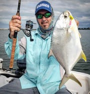 Jayson Arman of That's R Man land-based fishing charters said the pompano action last weekend was lit.
