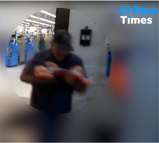 During the Aug. 3, 2019, El Paso Walmart shooting, a mysterious hero rescued a baby
