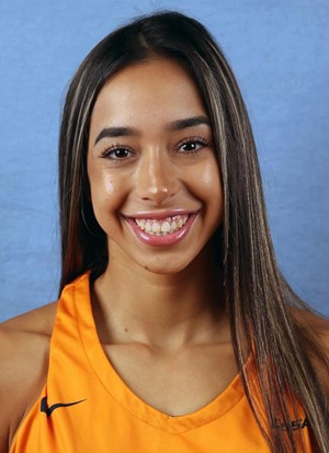 Katia Gallegos is a point guard for the UTEP women's basketball team