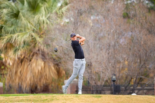 Texas Tech's Ludwig Aberg won the Sun Bowl Marathon All-America Golf Classic at the El Paso Country Club on Tuesday.