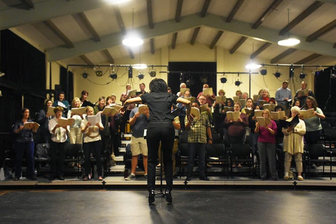 """TheCSU Channel Islands Choir will usher in the holiday season with a concert """"A Light in the Darkness: Voices of Hope, Peace, Love and Comfort."""" Performances will be Dec. 1 at St. Columba's Episcopal Church in Camarillo and Dec. 2  on the CSUCI campus."""