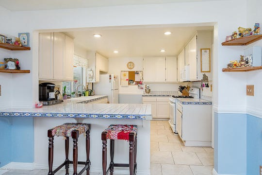 The kitchen of a Simi Valley home on the market for $579,500.
