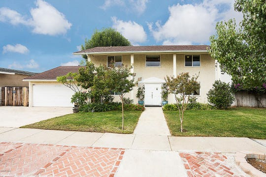 This Simi Valley home costs $579,500 and includes three bedrooms, two bathrooms and a partially in-ground pool.