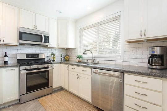 This home in Moorpark is on the market for $590,000 and includes a recently remodeled kitchen with new stainless steel appliances.