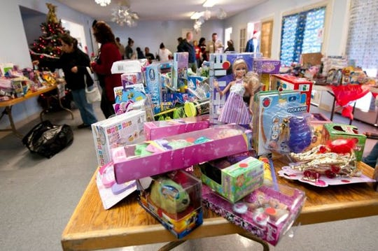 Camarillo-based nonprofit ACTION will be giving away 15,000 toys to select low-income families as part of its Community Christmas Shoppe program, like this one from 2015.