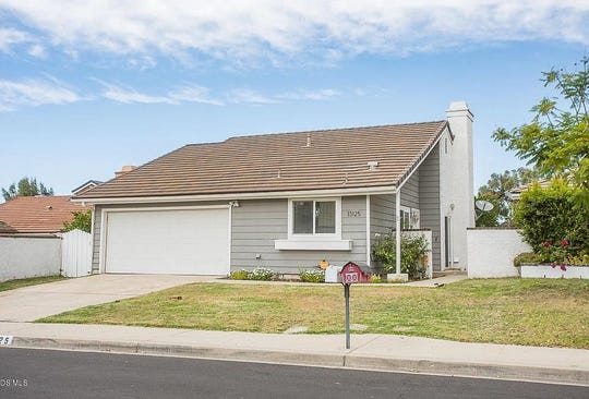 This home in Moorpark is on the market for $590,000 and has three bedrooms and two bathrooms in 1,141 square feet.