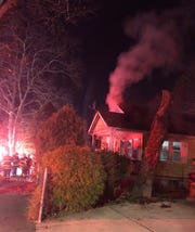 Vineland firefighters responded to a fire in the 200 block of Montrose Street at 12:15 a.m. Nov. 26, 2019.