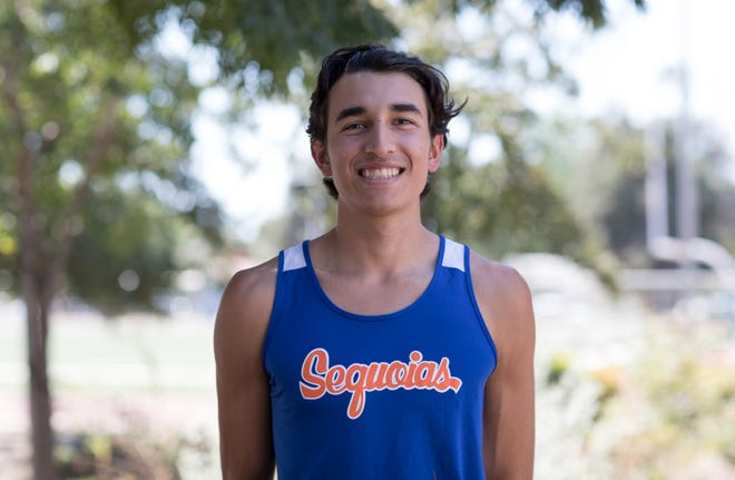Ismael Ramirez is a member of the COS men's cross country team.