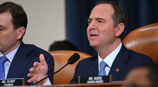 House Intelligence Committee Chairman Adam Schiff of California has been named the Democrats' lead manager of the impeachment trial.