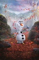 "Olaf has deep thoughts in ""Frozen 2."""