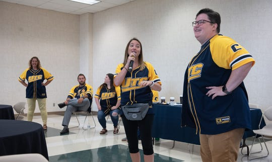 The staff of the Mosaic program at the University of Tennessee at Chattanooga, one of at least 60 colleges and universities that have added some form of support program for students with autism beyond what's required by federal law.