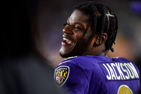 After his performance against the Rams, it's pretty clear Lamar Jackson likes playing on Monday Night Football.
