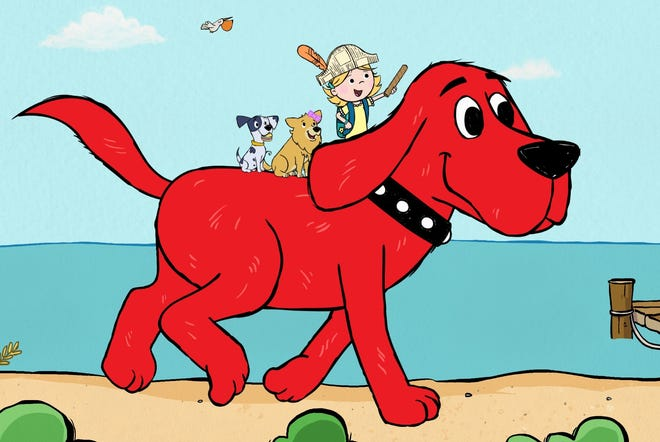 Clifford and a more independent Emily Elizabeth, appear in a re-imagined series beginning Dec. 6 on Amazon Prime.