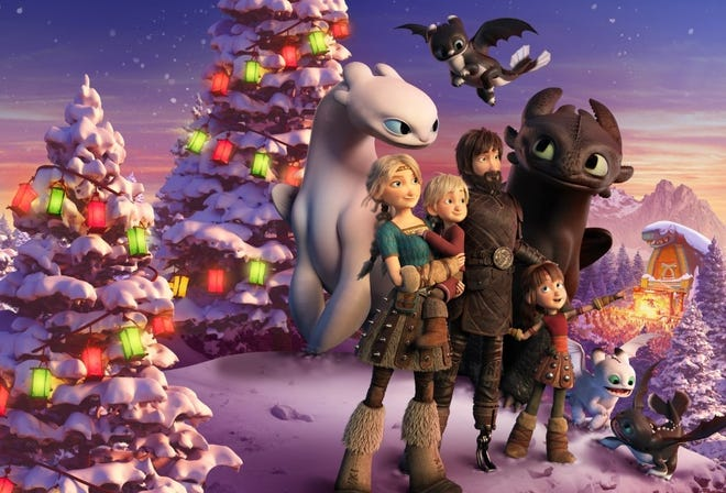 """The new generation of Vikings don't remember the bond between humans and dragons. Hiccup wants to change that in, """"How to Train Your Dragon Homecoming."""""""