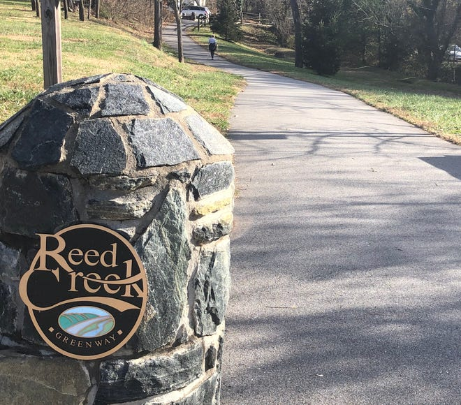 The city of Asheville is working with the a developer on the section of Reed Creek Greenway from Magnolia Street, where it currently ends, to Elizabeth Street. It will go through city-owned property, pass underneath the Chestnut Street bridge and pass through the former Bob Lawrence Power Equipment site.