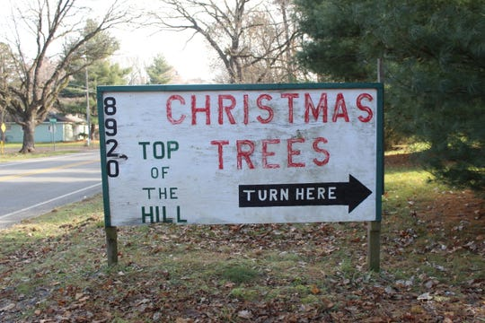 Top of the Hill Christmas Tree Farm is at 8920 Verona Road in Battle Creek.
