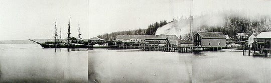 Seabeck during its mill era.