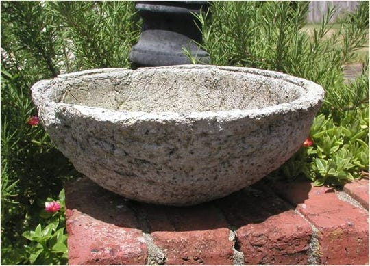 Hypertufa pots are easy and fun to make.