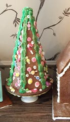 Every year pastry chef and owner Andrea Lekberg makes unique and whimsical gingerbread trees, available from The Artist Baker.