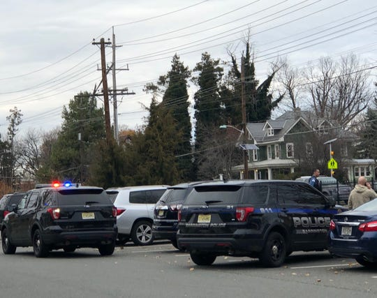 Police from multiple agencies responded to the scene