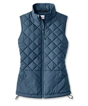 Orvis Recycled Puff Vest is a great layering piece.