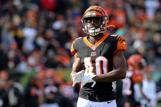 Cincinnati Bengals defensive back Brandon Wilson, a product of Calvary Baptist Academy, suffered season-ending hand injuries.