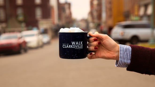 Join Walk Bike Clarksville downtown from 9 a.m. to noon Saturday for a cup of hot chocolate and  information about steps being taken to make Clarksville more walkable.