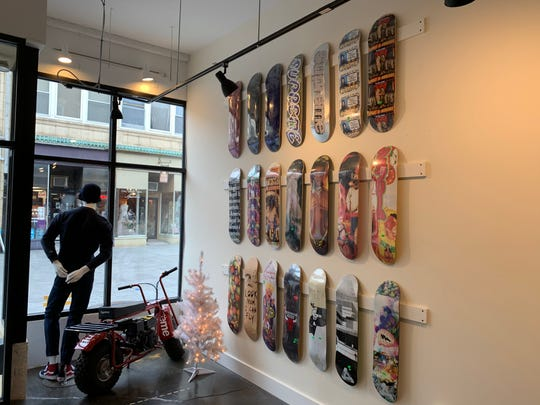Hub City, the skate shop and clothing store that opened on South Bridge Street, has re-opened as Hub City Somerville on Division Street.