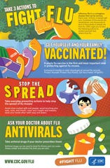 National Influenza Vaccination Week runsfrom Sunday, Dec. 1, to Saturday, Dec.7.