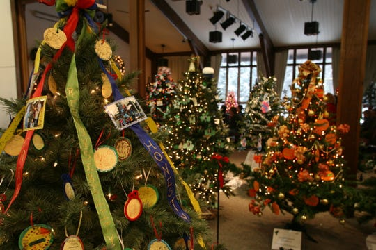 The Festival of Trees at the Environmental Education Center, 190 Lord Stirling Road in the Basking Ridge section of Bernards, runs from Friday, Dec. 6, to Sunday, Dec. 29.