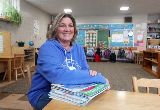 Cissy Moore is a teacher at the Montessori Preschool of Coshocton. She has been teaching at the school for 18 years.