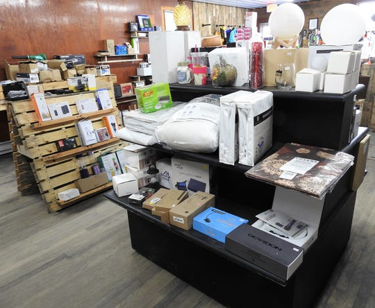 Haarman's Pallet Treasures in West Lafayette gets new merchandise about every two weeks.