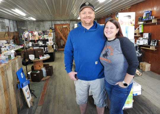Chris and Melissa Haarman recently opened Haarman's Pallet Treasures in the former NAPA Auto Parts building in West Lafayette. They sell discounted items, such as electronics and toys, from retailers like Amazon and Walmart.