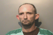 Nick Joe Beery shown in previous Polk County mugshot.