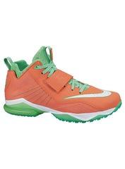 "Calvin Johnson's ""Spicy Tuna"" shoes"