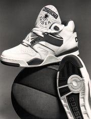 The Osaga Spider shoe that former Pistons center John Salley inspired.