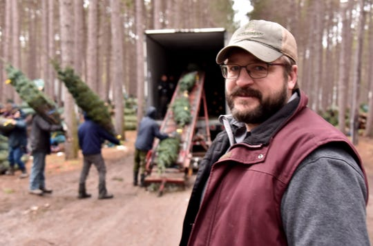 Scott Powell at Dutchman Tree Farms expects demand for real Christmas trees will continue.