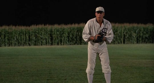 "Ray Liotta in ""Field of Dreams."""