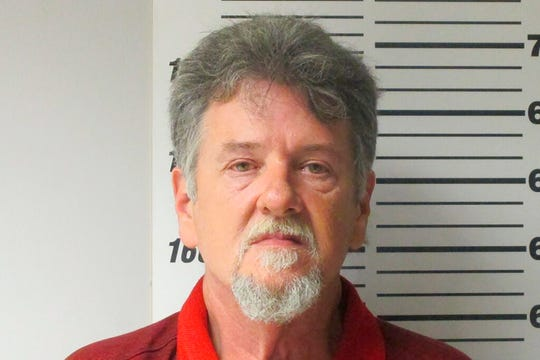 This undated photo provided by the Webster Missouri County Sheriff's Department shows Larry Dinwiddie. Prosecutors charged Dinwiddie Wednesday Nov. 27, 2019, with second-degree murder, alleging he killed his wife in 2015.