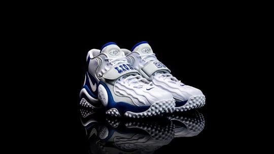 Commemorating the 20th anniversary of his retirement, as well as his most productive season, Nike is releasing a limited edition Barry Sanders shoe on Thanksgiving that will be sold both at Ford Field as well as on the shoe maker's website.