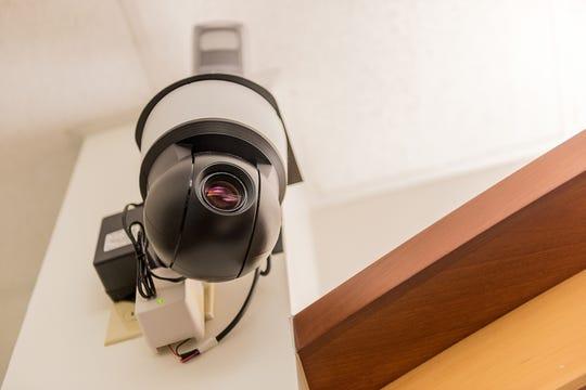 Illustration image: Surveillance camera