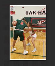 Oak Harbor's Jac Alexander and Bellevue's Casey Santoro