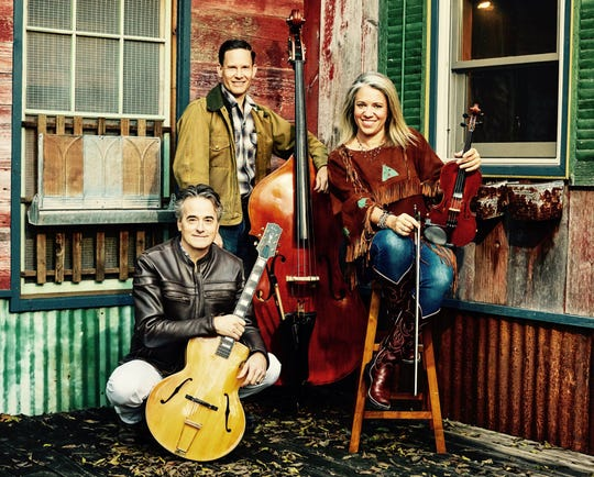 """Western swing band Hot Club of Cowtown joins Davina and The Vagabonds for """"The Finest Hour: Celebrating the 75th Anniversary of the Music that Ended WWII,"""" a Feb. 14 concert on the Main Stage at Door Community Auditorium in Fish Creek."""