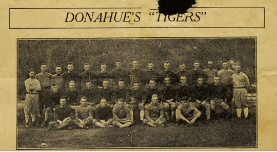"The 1919 Clemson Tigers Football Team, coached by Edward ""Jiggs"" Donahue."