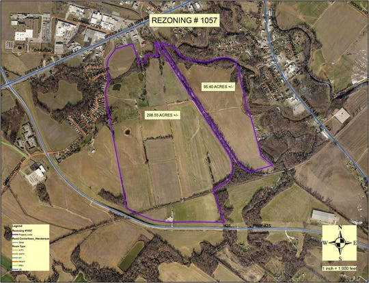 Local officials hope land off of Kentucky 425 that is connected with a CSX rail line will be ideal for development. And that idea is getting an endorsement, in the form of grant funding, from a new state program.