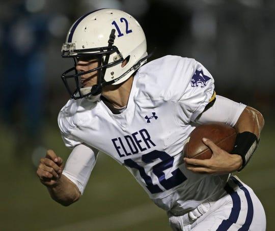 Peyton Ramsey was quarterback for Elder High School in Ohio in October 2015.