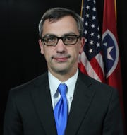 Hamilton County District Attorney General Neal Pinkston is shown in this undated photograph.